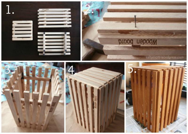 wooden rack diy
