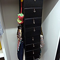 Ikea Hack : Skubb into Handbags Hanger with Drawers !