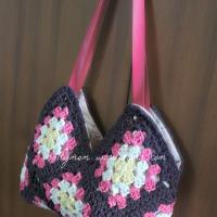 Granny Squares Bag -- FINITO !!