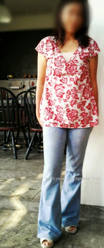 v neck blouse sewing