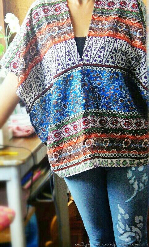 DIY : Sew a Poncho   Salty*mom