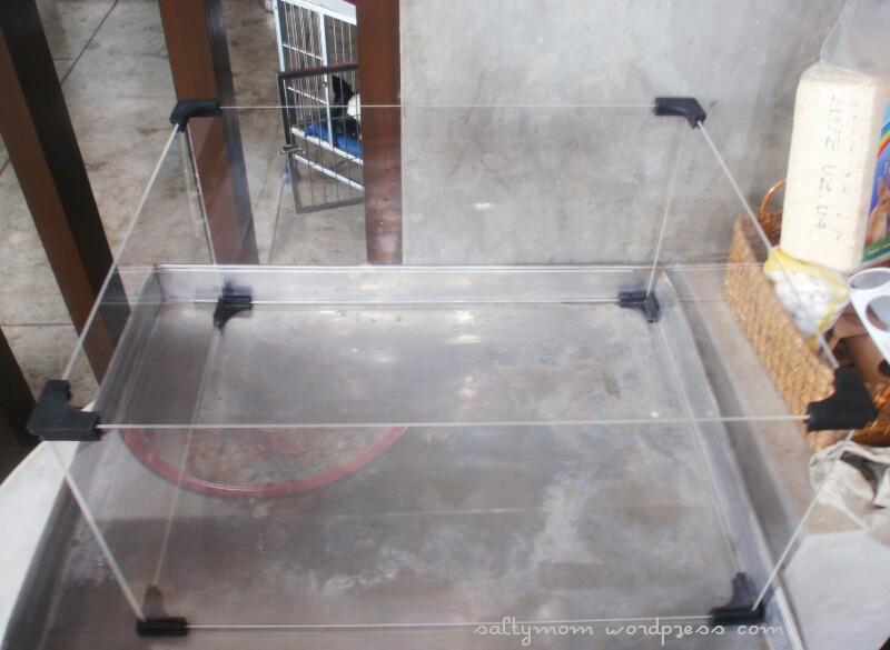 Diy hamster cage deluxe studio apartment salty mom for How to make a diy hamster cage