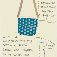 DIY Idea: Messenger Bag for Beginners
