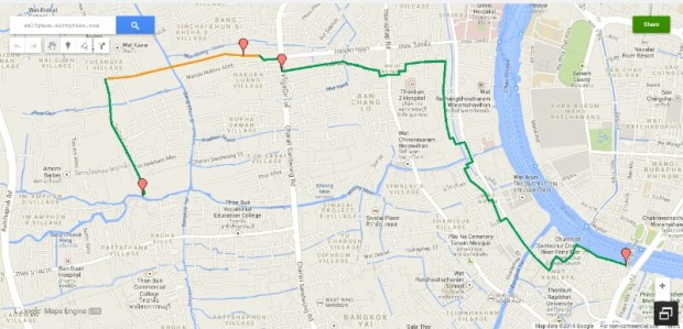 bike route map to kor kafair branch2
