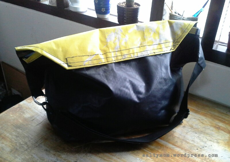 Diy bike messenger bag