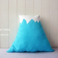 DIY  : Mt. Fuji Cushion ( Free Pattern ! )
