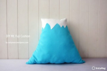 DIY a Mount Fuji Cushion