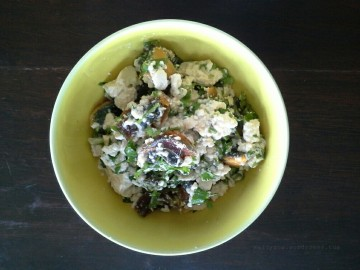 easy no cook tofu salad1