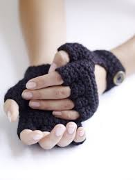 crochet driving gloves lion brand