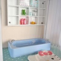DIY a Dollhouse from Ikea Shelf Lerberg