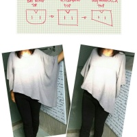DIY :  Asymmetrical Top + Pattern Drafting