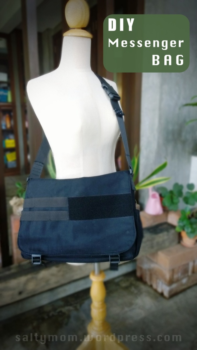DIY Messenger Bag + Part 1 Tutorial