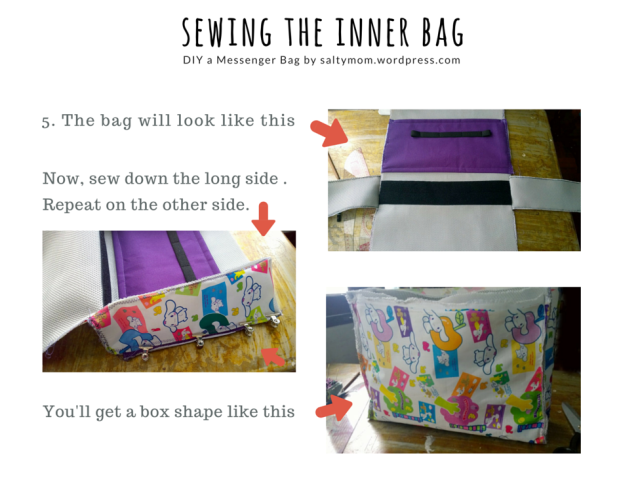 sewing the inner bag 3