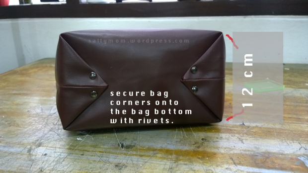 diy bucket bag bottom