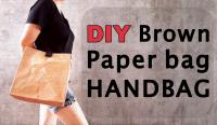 DIY brown paperbag handbag by saltymom.net 200 PX