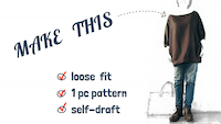 how to sew gathered sleeves loose fit top self drafted pattern by saltymom.net.png