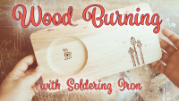 how to wood burn wooden tray with soldering iron by saltymom.net 200px