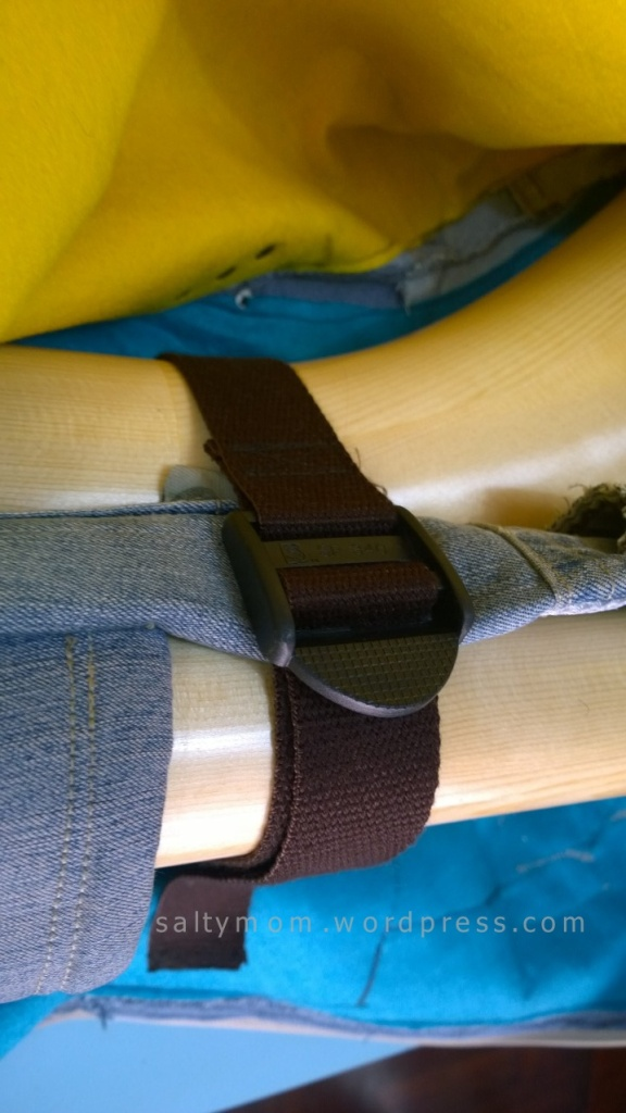 diy alphorn denim bag straps