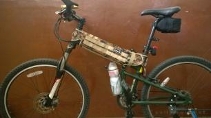 diy paratrooper montague hummer bike frame cover