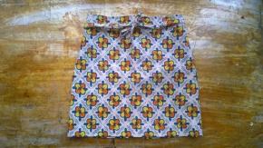 diy half apron easy sewing project