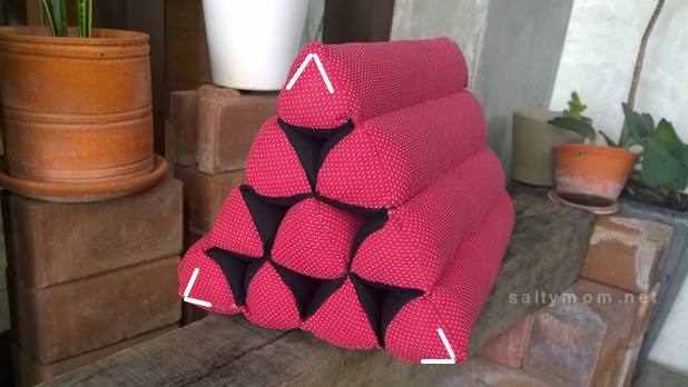 diy trianglular spa cushion1