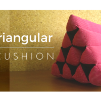 DIY Triangular Spa Cushion