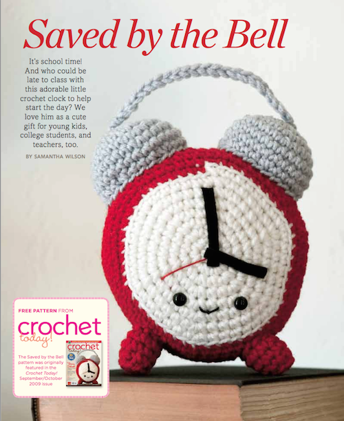 saved by the bell free crochet clock pattern from crochet today.png