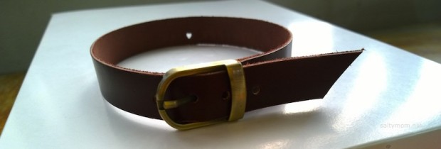 diy dog collar leather with name