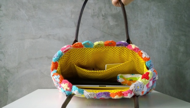 diy crochet granny squares bag roomy interiors