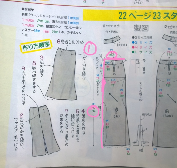 japanese sewing book maxi dress resize paper pattern1