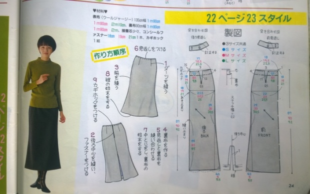 japanese sewing book maxi dress