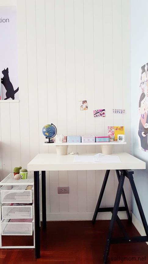 Diy Ikea Hack Children's Lack Desk and Standing fice