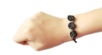 diy oreo felt mini bracelet