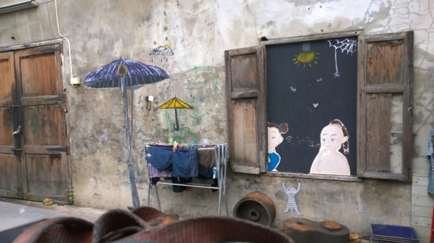 talad noi bangkok graffiti lenbo