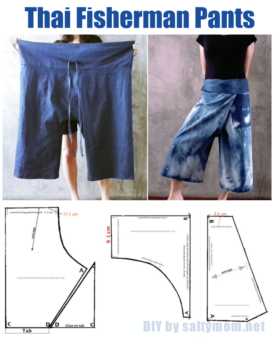 DIY Thai Fisherman Pants with Free Pattern Download !