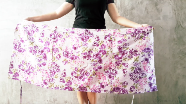 DIY : Sew a Wrap Skirt | Salty*mom