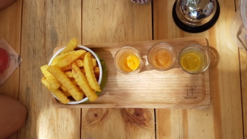 french-fries-3-dips-tree-and-tide-riverside-cafe