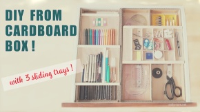 diy-cardboard-desk-organizer-with-3-sliding-trays