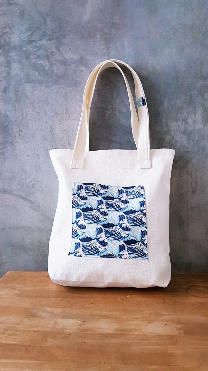 DIY 16oz Canvas Tote Bag with Flat Fell Seams
