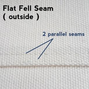 flat fell seams