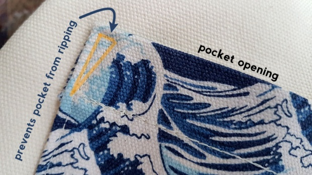 sew the pocket opening to prevent from ripping.jpg