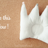 How to Turn a Doodle into a Pattern + Sewing a Baby Crown Pillow