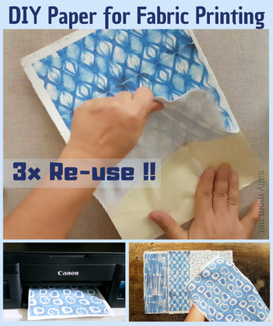diy paper for fabric printing by saltymom.net