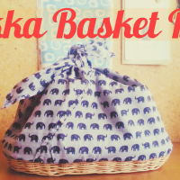 DIY Zakka-Style Wicker Storage Bag