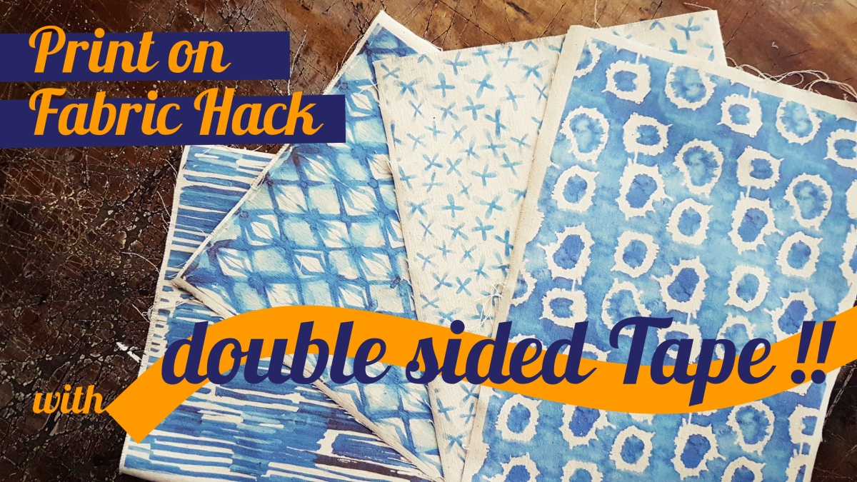 How to Print on Fabric Hack