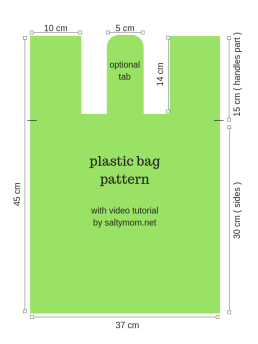plastic bagpattern