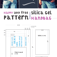 Happy 2019 and a Free Download Bag Project