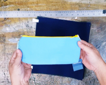 using pencil case as bag pockets